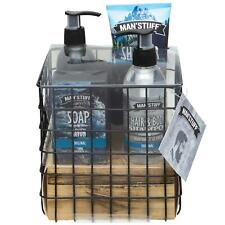 Technic Man'Stuff Men's Toiletries Gift Set Bath & Body Care Toiletry Basket