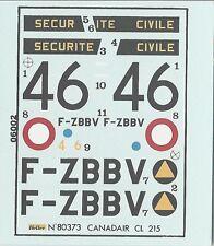 CANADAIR CL 215 1/72 DECALS DA KIT HELLER