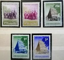 SOUTH VIETNAM 1957 Highland, Elephants, Hunters set MNH see scan !