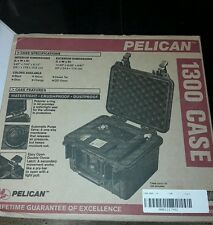 PELICAN  1300 CASE BLACK WITH PICK AND PLUCK FOAM