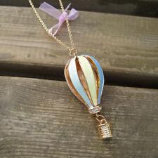 Pendant Fashion Chain Necklace Jewelry Gift 2018 Women Air Balloon Bib Statement