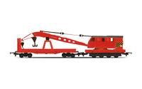 Hornby R6881 OO Gauge Railroad Breakdown Crane