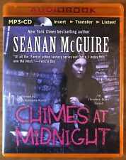 Seanan McGuire CHIMES AT MIDNIGHT (October Daye #7) Unabridged Audiobook MP3-CD