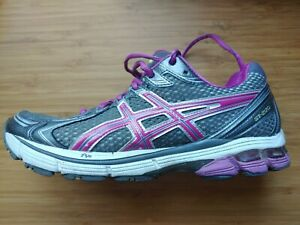 ASICS Gel GT-2170 Running Shoes Womens Size 9 Athletic Sneakers Purple Gray