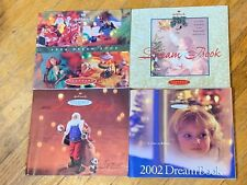 1996 1999 2001 and 2002 HALLMARK Dream Books  Lot of 4 catalogues.