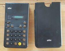 RARE Calculatrice calculator BRAUN ET22 4 955 702 VFD 70's Dieter Rams
