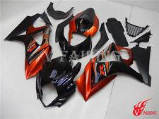 Fairing Fit for Suzuki 2007 2008 GSXR 1000 K7 Injection Plastic Orange Black a15