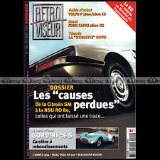RETROVISEUR N°194 CITROEN SM NSU RO 80 FORD CAPRI RS BISCOOTER VOISIN FORD V8-40