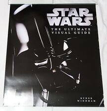 Star Wars Ultimate Visual Guide Darth Vader Advertising Poster 26 x 30 Rolled