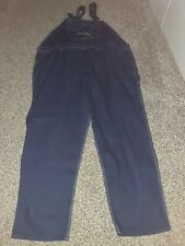 NWT KEY IMPERIAL DENIM BIB OVERALLS With Zip Fly Size 60/32
