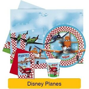 DISNEY PLANES Birthday PARTY RANGE - Tableware Balloons Banners & Decorations