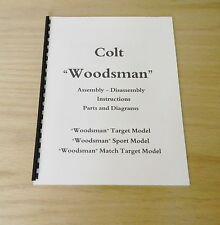 "Colt ""Woodsman"" .22 Caliber Pistols Manual - #M7"