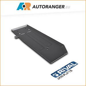 Unterfahrschutz für Kraftstofftank aus Aluminium 6mm — Ford Ranger / Mazda BT-50