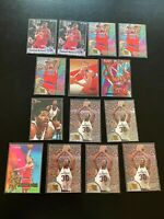 Rasheed Wallace 14 Card Lot Rookies + Inserts Washington Bullets Box1