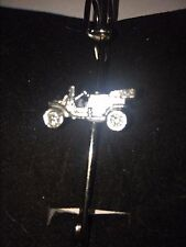 "Vintage Car W29 Scarf , Brooch and Kilt Pin Pewter 3""  7.5 cm"