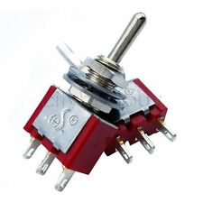 20pcs MTS-102 3 Pin SPDT ON-ON 2 Position Mini Toggle Switches Red High Quality