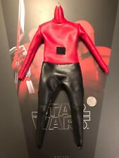 Hot Toys Star Wars del Pretorio Guard HB Black & Red Tuta Loose SCALA 1/6th