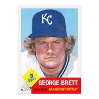 2020 Topps The MLB Living Set Baseball #287 George Brett Kansas City Royals