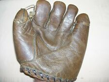 Vintage Antique Leather Goldsmith Model Baseball Glove