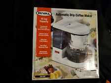 Rival Automatic Drip Coffee Maker, 10 cup
