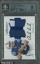 2016 Panini Flawless Sapphire Andrew Luck Dual Jersey Patch AUTO 3/5 BGS 9 w/ 10