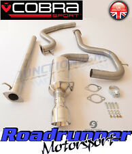 "Cobra Sport Mondeo ST 2.0 TDCi 2.5"" Exhaust System Stainless Front Pipe Back New"