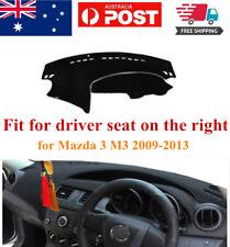 RHD Dash Mat Dash Cover Dashboard No Slips For Mazda 3 M3 2009-2013