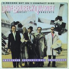 The Dave Brubeck Quartet - The Great Concerts ( CD - Compilation - Remastered )