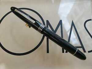 OMAS OGIVA BLACK MOMA SPECIAL ED. ROLLER BALL  **NEW FACTORY CONDITION**