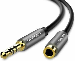 UGREEN Headphone Extension Cable Car Aux Stereo Mini Jack Lead 3.5mm Male to Fem
