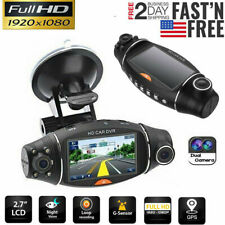 HD 1080P Dual Lens GPS Car DVR Camera Vehicle Dash Cam Video Recorder G-sensor