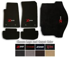 Camaro Z28 - 5pc Classic Loop Carpet Floor Mat Set - Choice of Color & Logo