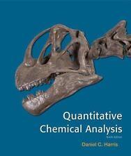 Quantitative Chemical Analysis by Daniel C. Harris (2015, Hardcover, Revised)