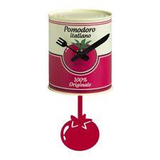 """Brandani 53131 - Orologio """"barattolo"""" Pomodoro in metallo con pendolo"""