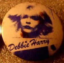 "DEBBIE HARRY,  BLONDIE"" Vintage"" 1970's -1980's Button/Badge 1"""