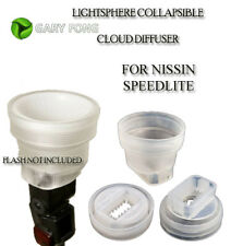 Gary Fong lightsphere CLOUD Collapsible FOR NISSIN Di466 Di622 Di866 ALL MAKES