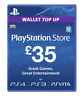Sony PlayStation 35 GBP Network PSN Card