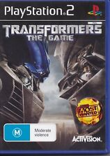 Transformers The Game - PlayStation 2 PAL PS2