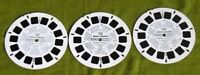 Vintage Viewmaster 1968 TV Show The Mod Squad 3 Reel Set NICE COLOR GOOD COND