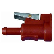"Johnson Evinrude (BRP) 5/16"" Female Fuel Gas Hose Connector 7-6911 (RED)"
