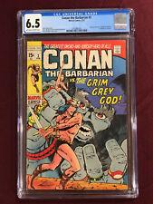 CONAN THE BARBARIAN 3 CGC 6.5 WINDSOR-SMITH BUSCEMA 1971 ROBERT E HOWARD