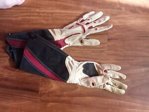 Rose pruning gauntlets XS Bionic Brand extra long leather and canvas
