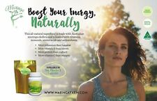 Bust Your Energy Naturally Capsules & Tea Natural Detox & Vitamin-Mineral Boost