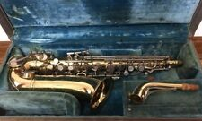 Conn 28M USN Alto Saxophone, Neck And Original Case