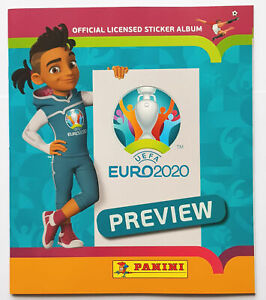 Panini Euro 2020 Preview Empty Album Nordic Edition (Finland, Norway, Sweden)