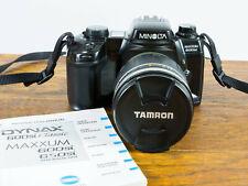 Exc+ Minolta Maxxum 600si, 35mm, 28-200mm Zoom Lens Tested/Guaranteed!