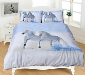 Stylish 3D Duvet Cover Set With Matching Pillow Cases All Sizes