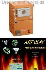 Brennofen, Muffelofen, Laborofen, Efco Art Clay Silber 1000 °C,  NEU