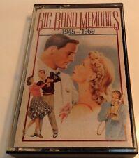 BIG BAND MERORIES 1945-1969 Tape Cassette #3 BMG Music USA 1991 Reader's Digest