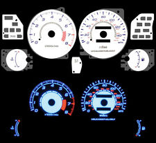 NEW 95 96 97 98 99 00 Dodge Avenger L4 2.0L Blue Indiglo Glow White Gauge